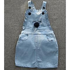 voordelige Broeken voor baby's-Baby Meisjes Effen Mouwloos Overall & Jumpsuit