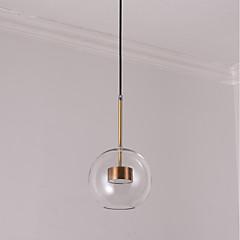 billiga Dekorativ belysning-JLYLITE Glob Hängande lampor Fluorescerande Elektropläterad Metall Glas Ministil 110-120V / 220-240V LED-ljuskälla ingår / Integrerad LED / SAA / FCC / VDE