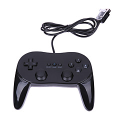 billige Wii U-tilbehør-Wii Med ledning Game Controller Til Wii U / Wii ,  Game Controller ABS 1 pcs enhet