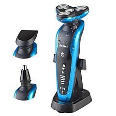 billige Barbering og hårfjerning-Kemei Elektriske barbermaskiner til Herrer 100-240 V Multifunktion / Håndholdt design / Lett og praktisk