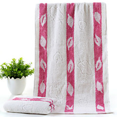 billiga Handdukar och badrockar-Överlägsen kvalitet Tvätt handduk, Randig Polyester / Bomull Blandning 1 pcs