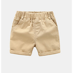 baratos Roupas de Meninas-Infantil / Bébé Unisexo Sólido Shorts