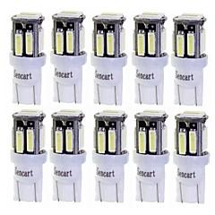 baratos -SENCART BA9S / T10 Carro / Motocicleta Lâmpadas 3W LED Integrado 240lm 10 LED Iluminação interior For Universal