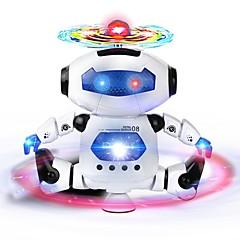 baratos -RC Robot Infravermelho ABS Mini Cantando Dançando Luzes LED Não