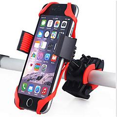 Bike Phone Mount Mountain Bike Silica Gel Red - 1 pcs