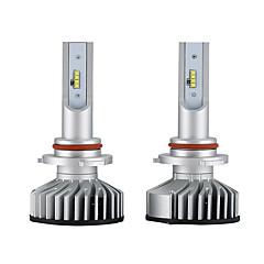 billige Frontlykter til bil-2pcs H10 / 9005 Bil Elpærer 25W Integrert LED 3000lm 2 LED Hodelykt For Universell Alle Modeller Alle år