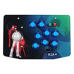 رخيصةأون -K1A سلكي عصا التحكم من أجل سوني PS3 / PC ، عصا التحكم ABS 1 pcs وحدة