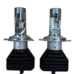 billige Frontlykter til bil-2pcs H4 Bil Elpærer 50W Høypresterende LED 14000lm 4 LED Hodelykt For Jeep / Dodge / Chevrolet Grand Cherokee / Wrangler / Dodge Alle år