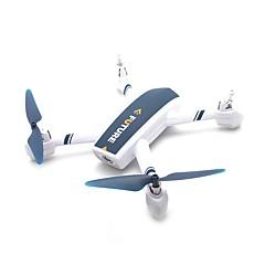 billige Fjernstyrte quadcoptere og multirotorer-RC Drone JXD JXD 528 BNF 4 Kanaler 6 Akse 2.4G Med HD-kamera 2.0MP 720P Fjernstyrt quadkopter FPV / En Tast For Retur / GPS Posisjonering