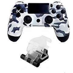 baratos Acessórios para PS4-Sem Fio Suporte do punho / Comando de Jogo Para PS4 ,  Bluetooth Vibração / Touchpad / Baixa vibração Suporte do punho / Comando de Jogo ABS 1 pcs unidade