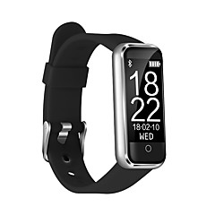 tanie Inteligentne zegarki-Inteligentne Bransoletka CB-601+ na Android iOS Bluetooth Pulsometry Pomiar ciśnienia krwi Ekran dotykowy Spalonych kalorii Długi czas czuwania Czasomierze Krokomierz Powiadamianie o połączeniu
