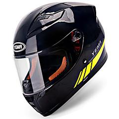 tanie Kaski i maski-YEMA 832 Kask pełny Doroślu Dla obu płci Kask motocyklowy Odporne na wstrząsy / Chroniący / a przed promieniowaniem UV / Odporny / a na działanie wiatru
