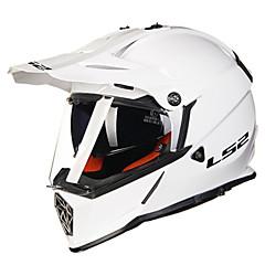 tanie Kaski i maski-LS2 MX436 Motocross Doroślu Unisex Kask motocyklowy Tłumienie / Hydrofobowy / Przeciw zużywaniu się
