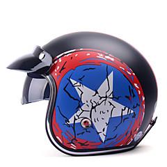 tanie Kaski i maski-YEMA 629 Braincap Doroślu Dla obu płci Kask motocyklowy Odporne na wstrząsy / Chroniący / a przed promieniowaniem UV / Odporny / a na działanie wiatru