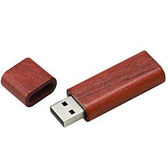 baratos Pen Drive USB-Ants 2GB unidade flash usb disco usb USB 2.0 De madeira Cubóide Coberturas
