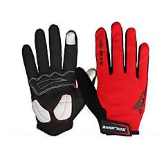 baratos Luvas de Motociclista-ZOLI Dedo Total Unisexo Motos luvas Tecido Secagem Rápida / Respirável / Sensível ao Toque