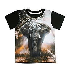 Χαμηλού Κόστους Μπλουζάκια για αγόρια-Παιδιά Αγορίστικα Στάμπα Κοντομάνικο Κοντομάνικο