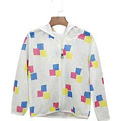 tanie Odzież dla dziewczynek-Dzieci Dla dziewczynek Moda miejska Geometric Shape Długi rękaw Kurtka / płaszcz