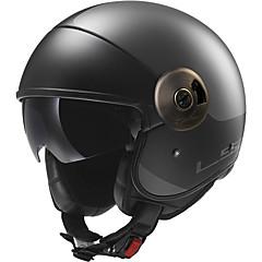 tanie Kaski i maski-LS2 OF597 Braincap Doroślu Unisex Kask motocyklowy Hydrofobowy / Odporny na wstrząsy / Przeciw zużywaniu się