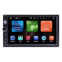 billiga DVD-spelare till bilen-Factory OEM WJ7098 7 tum 2 Din Android6.0 Bil multimedia spelare / Bil GPS Navigator GPS / Pekskärm / Inbyggd Bluetooth för Universell RCA Stöd MPEG / mp4 WMA JPEG / RDS / Wifi