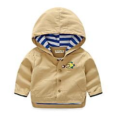 billige Jakker og frakker til drenge-Baby Drenge Basale Ensfarvet Langærmet Jakkesæt og blazer