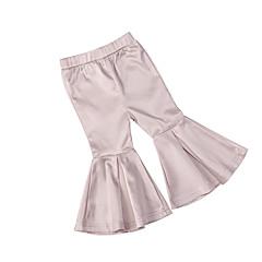 baratos Roupas de Meninas-Bébé Para Meninas Sólido Calças