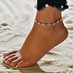 tanie Piercing-Pojedynczy Strand Bransoletka kostki - Modny, Romantyczna, Słodkie Złoty Na Prezent Wyjściowe Damskie