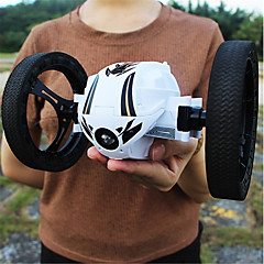 billige Fjernstyrte biler-Radiostyrt Bil S3 5CH 2.4G Bil / Stuntbil 1:18 6 km/h KM / H