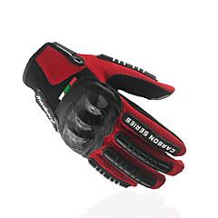 baratos Luvas de Motociclista-Madbike Dedo Total Unisexo Motos luvas Tecido Oxford / Mistura de Material Sensível ao Toque / Respirável / Anti-desgaste