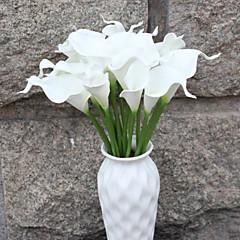 billige Kunstige blomster-Kunstige blomster 1 Gren Singel Rustikk Calla-lilje Gulvblomst