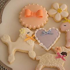 billige Bakeredskap-Bakeware verktøy Rustfritt stål GDS Til Småkake Sjokolade For Godteri Dyr Cake Moulds Kakekuttere 1pc