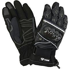 tanie Rękawiczki motocyklowe-YOHE Pełny palec Dla obu płci Rękawice motocyklowe Włókno węglowe Ekran dotykowy / Wodoodporny / Wodoodporność