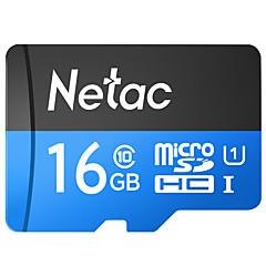 baratos Cartões de Memória-Netac 16GB TF cartão Micro SD cartão de memória class10 16