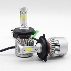 billige Frontlykter til bil-SO.K 2pcs 9004 / 9007 / H7 Bil Elpærer 30 W Integrert LED / COB / Høypresterende LED 8000 lm 3 LED Hodelykt Alle år