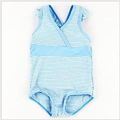 billige Babytøj-Nyfødt Pige Strand Stribet Badetøj