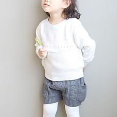 Χαμηλού Κόστους Βρεφικά πουλόβερ και ζακέτες-Μωρό Κοριτσίστικα Στάμπα Μακρυμάνικο Πουλόβερ & Ζακέτα