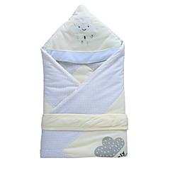 baratos Acessórios para Crianças-Recém-Nascido / Bebê Unisexo Activo Diário Retalhos Patchwork Algodão / Poliéster Cobertor Azul / Rosa / Amarelo Tamanho Único