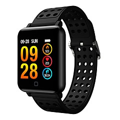 cheap Smartwatches-Smartwatch M19 Women Men Heart Rate Blood Pressure Bluetooth waterproof Sport Smart Bracelet  for Android iOS