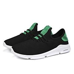 tanie Buty do biegania-Męskie Tenisówki Guma Chodzenie / Bieganie / Jogging Lekki, Anti-Shake, Oddychający Oddychająca Mesh Biały / Czarny / Zielony