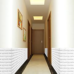 billige Tapet-Dekorative Mur Klistermærker - 3D Mur Klistremerker 3D Stue / Innendørs