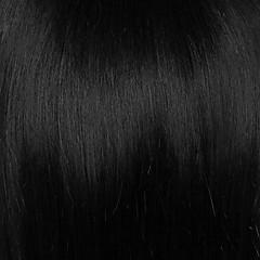 cheap Wigs & Hair Pieces-Human Hair Capless Wigs Human Hair Straight Layered Haircut Dark Roots / With Bangs Silver / Black / Blonde Short Capless Wig Women's