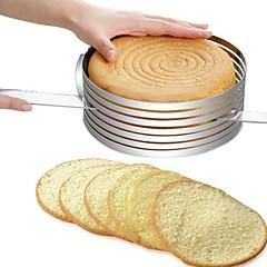 billige Bakeredskap-Bakeware verktøy Rustfritt Stål + A-klasse ABS / Rustfritt stål Multifunktion / GDS Brød / Kake / Til Kake Rund Cake Moulds / Kakekniv 1pc