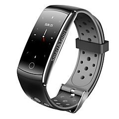 abordables -Indear Q8S Bracelet à puce Android iOS Bluetooth Imperméable Moniteur de Fréquence Cardiaque Mesure de la pression sanguine Ecran Tactile Calories brulées Minuterie Podomètre Rappel d'Appel Moniteur