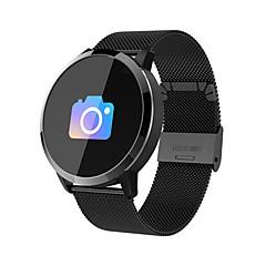 preiswerte -Smart-Armband Q8-M für Android iOS Bluetooth Herzschlagmonitor Blutdruck Messung Verbrannte Kalorien Langes Standby Distanz Messung Schrittzähler Anruferinnerung Schlaf-Tracker Sedentary Erinnerung