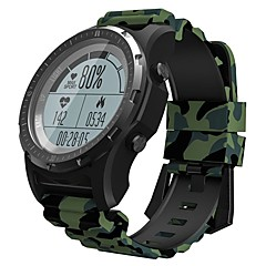 tanie Inteligentne zegarki-KING WEAR S966 Inteligentny zegarek Android iOS Bluetooth GPS Sport Wodoodporny Pulsometry Ekran dotykowy Stoper Krokomierz Powiadamianie o połączeniu telefonicznym Rejestrator aktywności fizycznej