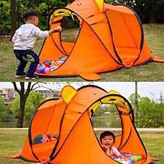 billige Telt og ly-2 personer Skjermhus Med enkelt lag Stang camping Tent Utendørs Lettvekt til Picnic <1000 mm 100% Karbon Fiber, Terylene 96*182*86 cm