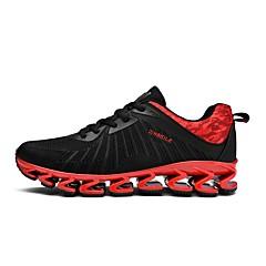 tanie Buty do biegania-Męskie Bieganie / Adidasy Wyścigi / Jogging Lekki, Anti-Shake, Amortyzacja Oddychająca siateczka Czarny / Czerwony / Czarny / Czerwony
