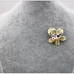 billige Motebrosjer-Dame Klassisk Nåler - Kreativ Stilfull, Koreansk Brosje Gull Til Fest / Engasjement