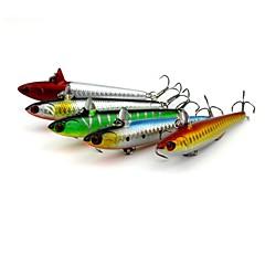 billiga Fiskbeten och flugor-5 pcs Fiskbete Hårt bete / Blyertspenna Plast Lätt att använda Sjöfiske / Kastfiske / Isfiske / Spinnfiske / Jiggfiske / Färskvatten Fiske / Karpfiske / Abborr-fiske