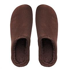 baratos Chinelos-Chinelos de Convidado / Chinelos / Pantufas Comum Pêlo de Cordeiro Cor Única Sapatos